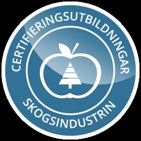 Certf - skog white blue bg - logogo